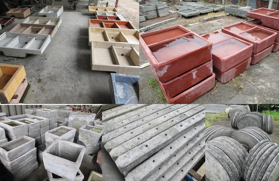 Se vende f brica tubos y pilas carvajal rojas inmotico for Precio del mercado de concreto encerado